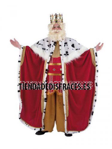 Disfraz de Rey Melchor adulto extraluxe