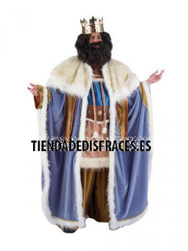 Disfraz de Rey Gaspar adulto extraluxe