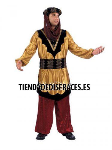 Disfraz de Paje del Rey Baltasar adulto extraluxe