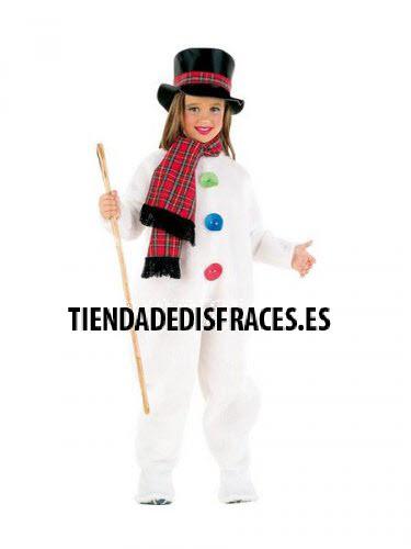 Disfraz de Muñeco de Nieve Infantil deluxe