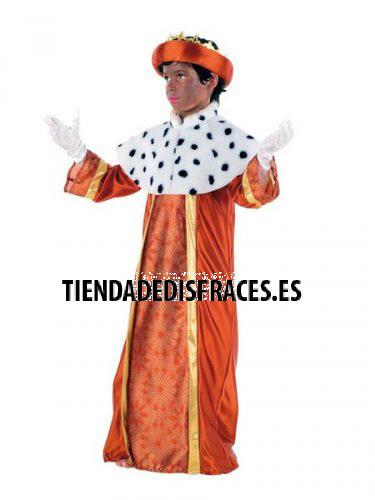 Disfraz de Rey Baltasar Infantil deluxe 5 a 7 años