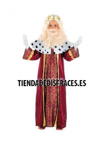 Disfraz de rey melchor (3) 5 a 7 años