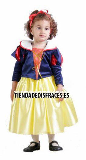 Disfraz de Bella Nieves 18 meses