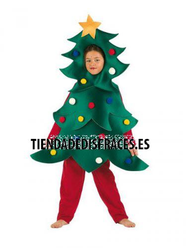 Disfraz de Árbol de Navidad infantil deluxe 11 a 13 añós