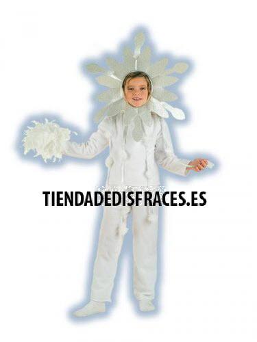 Disfraz de Copos de nieve infantil deluxe