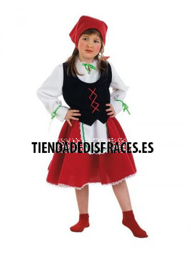 Disfraz de Pastorcita infantil deluxe