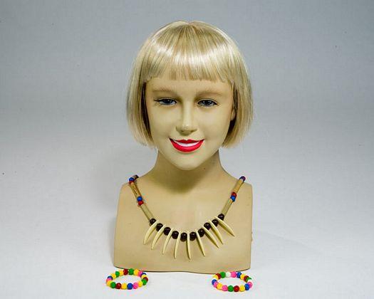 Bl collar y pulseras indias, 29x17cms