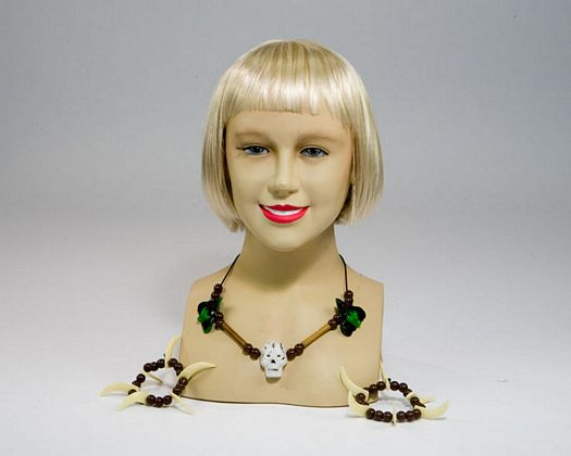 Bl collar y pulseras brujacalavera,29x18