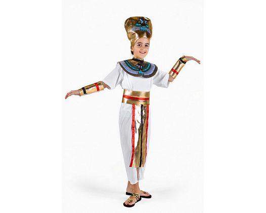 Disfraz de faraona, 10-12