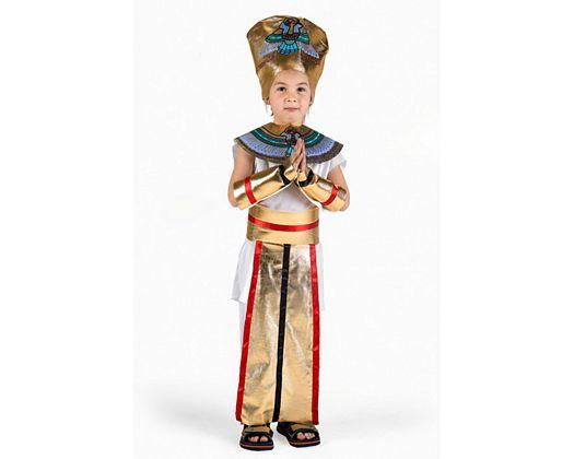 Disfraz de faraon, 3-4 años