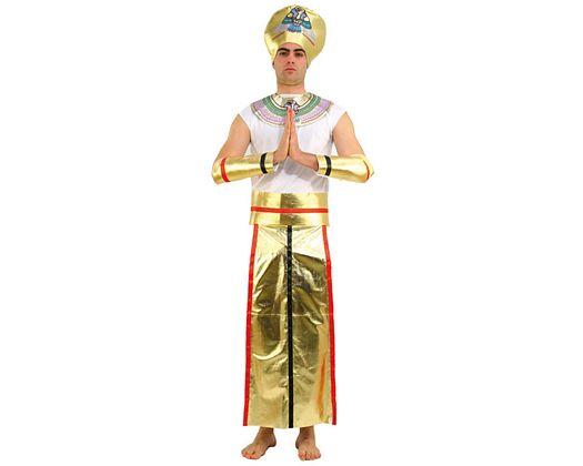 Disfraz de faraon, adulto Talla 2 (M-L)