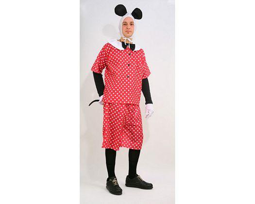 Disfraz de ratoncito, Talla 2 (M-L)