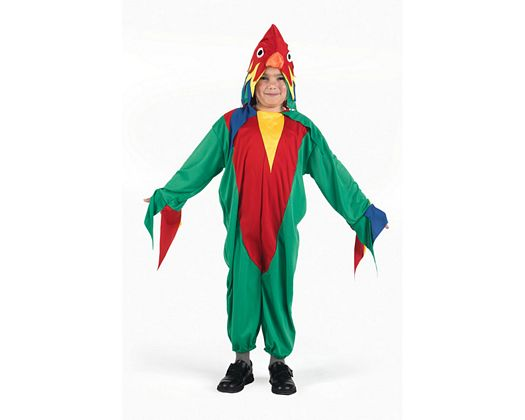 Disfraz de loro, Talla 2 (5 – 6 años)