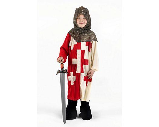 Disfraz de caballero cruzadas, Talla 1 (3 – 4 años)