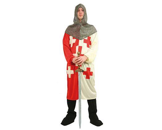 Disfraz de caballero cruzadas, adulto