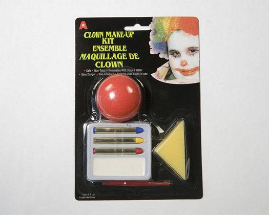Maquillaje carnaval payaso nariz