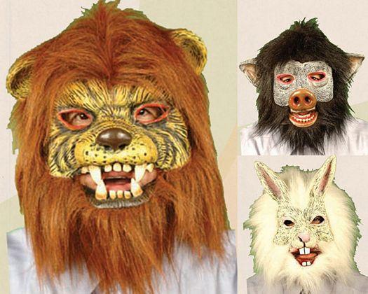 Mascara animales, 4st