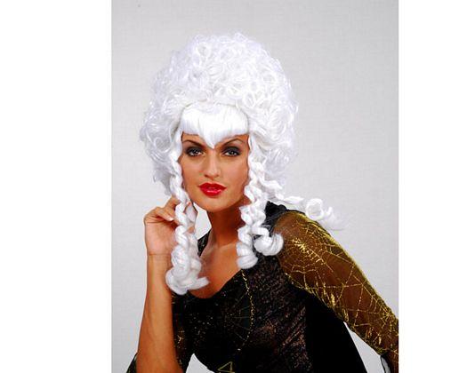 Pv peluca marquesa blanca