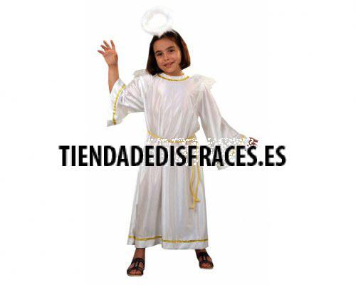 Disfraz de Angel de 4-6 años económico