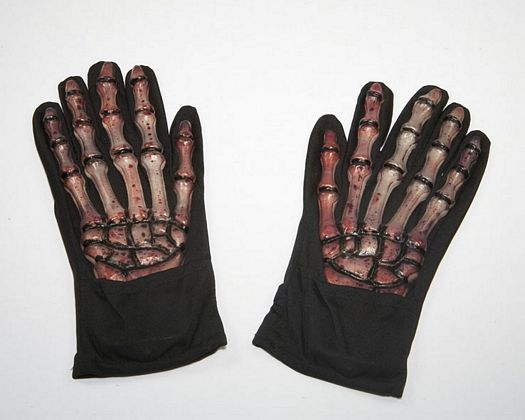Guantes mano-huesos