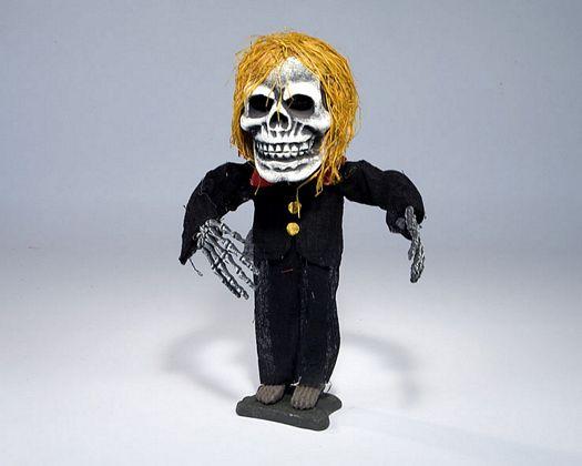 Esqueleto novio de pie 40x15x10cm