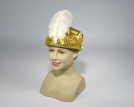 Sombrero arabe dorado para paje o rey mago