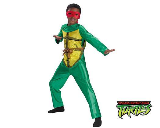 Disfraz de tortuga ninja licencia, 8-10