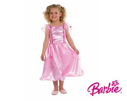 Disfraz de barbie licencia, 5-7 años