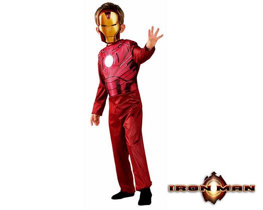 Disfraz de iron man licencia, 3-5