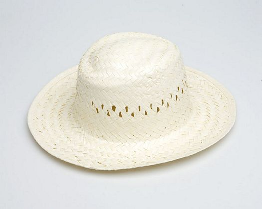 Sombrero hombre, calado color natural