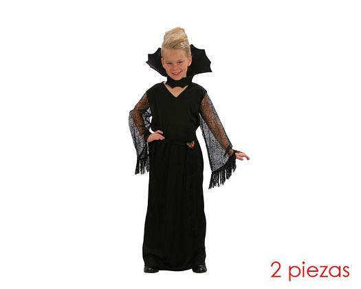 Disfraz de viuda negra niñas 5-6 años