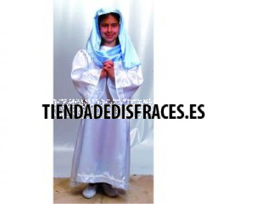 Disfraz de Virgen 10-12 años económico