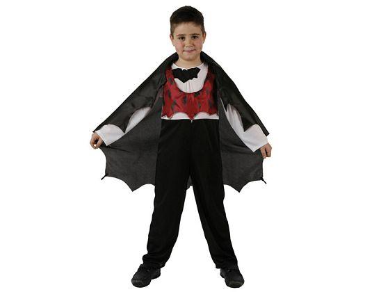 Disfraz de vampiro murcielago, Talla 2 (5 – 6 años)