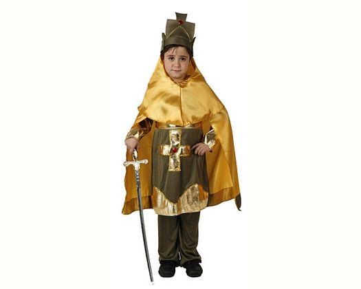 Disfraz de caballero cristiano, Talla 1 (3 – 4 años)