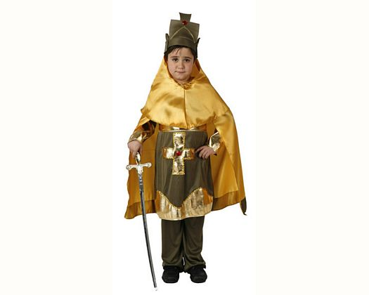 Disfraz de caballero cristiano 10-12 años talla 4