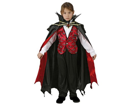 Disfraz de vampiro rojo, 10-12