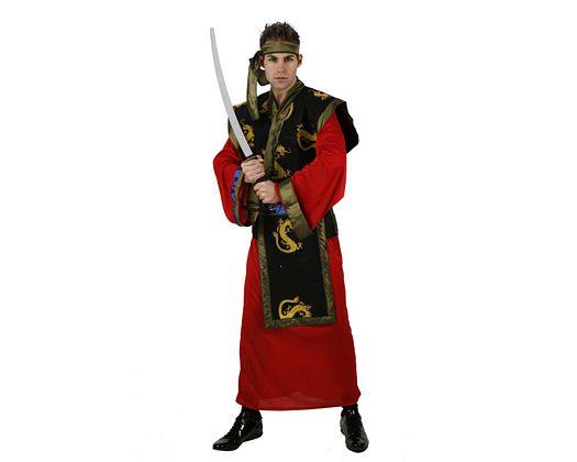 Disfraz de samurai, adulto Talla 2 (M-L)
