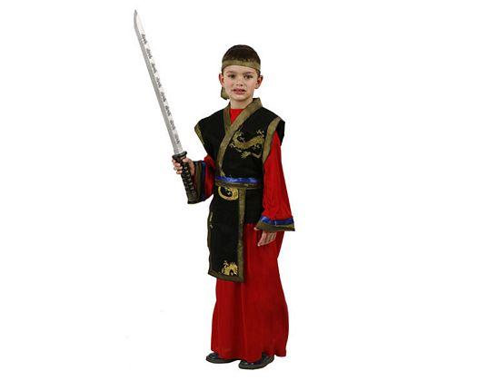 Disfraz de samurai, talla 2
