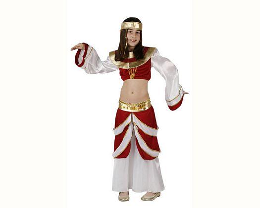 Disfraz de arabe rojo, 5-6 años