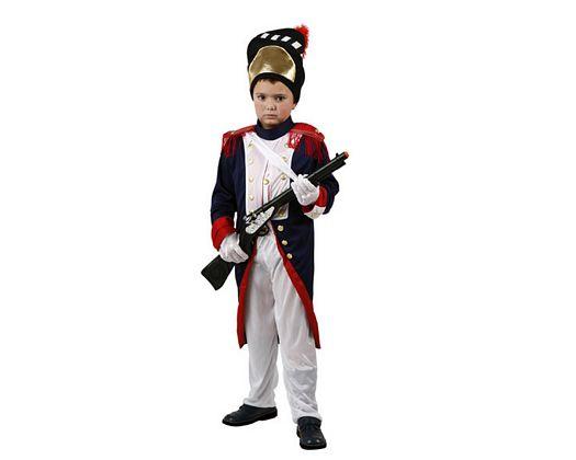 Disfraz de soldado de epoca Talla 1 (3 – 4 años)