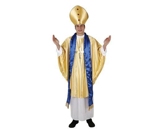 Disfraz de obispo, adulto