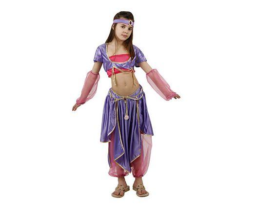 Disfraz de bailarina arabe lujo, 7-9 años