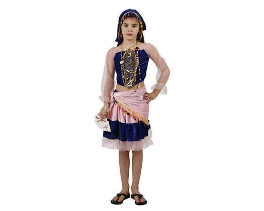 Disfraz de gitana, Talla 4 (10 – 12 años)