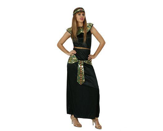 Disfraz de egipcia, Talla 2 (M-L)