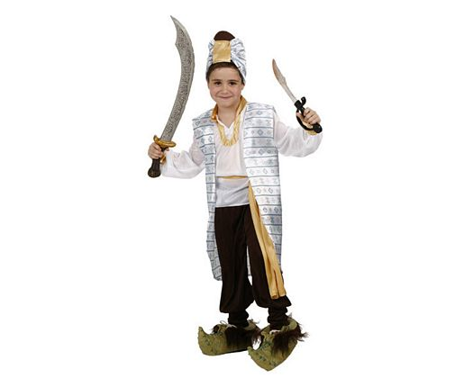 Disfraz de principe arabe, Talla 3 (7 – 9 años)