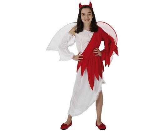 Disfraz de angel vs demonio, 5-6