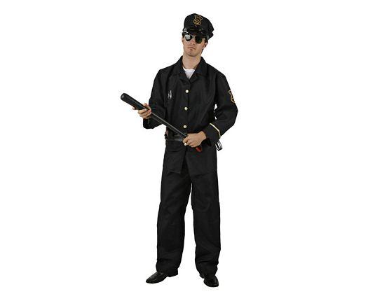 Disfraz de policia, adulto