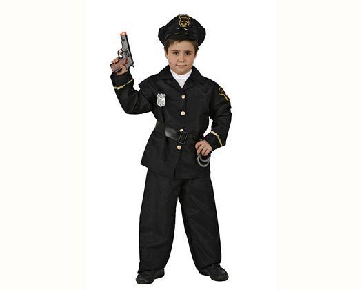 Disfraz de policia Talla 3 (7 – 9 años)