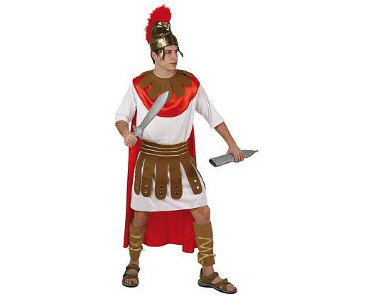 Disfraz de soldado romano, adulto Talla 2 (M-L)