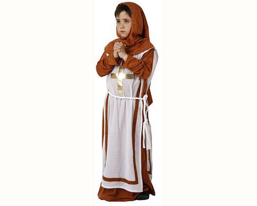 Disfraz de monje, Talla 3 (7 – 9 años)